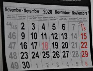November's Activities – 5th Class B