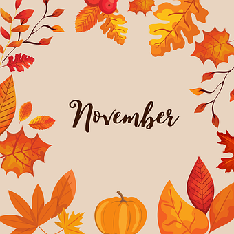 November in Aisling's Junior Infants!
